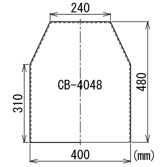 顕微鏡屋/顕微鏡カバー(ダストカバー/防塵カバー/ビニールカバー)  CB-4048【画像3】