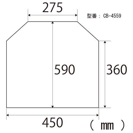 顕微鏡屋/顕微鏡カバー(ダストカバー/防塵カバー/ビニールカバー) CB-4559【画像3】