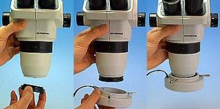 光を照らす  松電舎 56灯LEDリング照明(M49サイズ顕微鏡対応) GR10-K