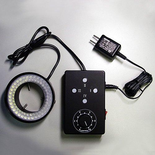 松電舎 4分割80灯LEDリング照明 LED-80T