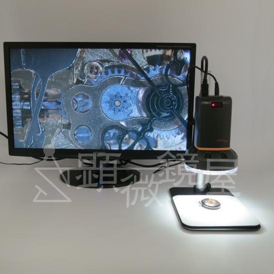 MicroLinks(ViTiny) HDMIマイクロスコープ UM08用 反射光抑えますパーツセット UM-PL4X【画像11】