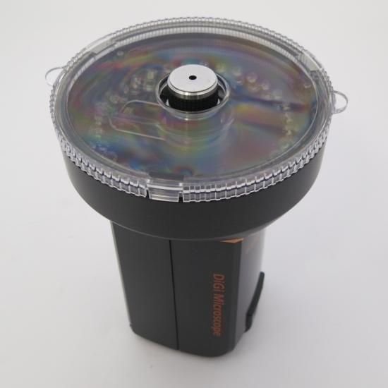 MicroLinks(ViTiny) HDMIマイクロスコープ UM08用 反射光抑えますパーツセット UM-PL4X【画像7】