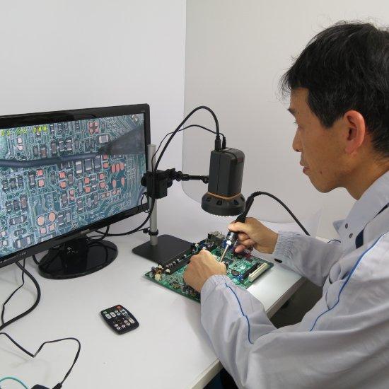MicroLinks (ViTiny) HDMIマイクロスコープ傾斜もできますセット UM08-ARM1R【レンタル機】【画像3】