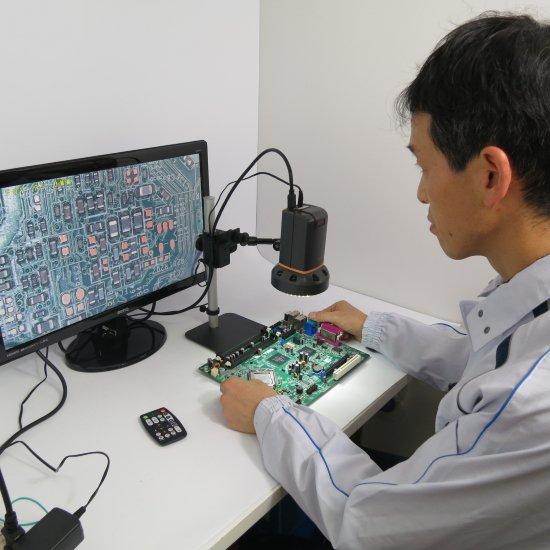 MicroLinks (ViTiny) HDMIマイクロスコープ傾斜もできますセット UM08-ARM1R【レンタル機】【画像4】
