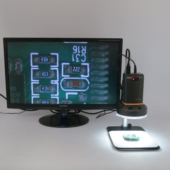 MicroLinks (ViTiny) 反射・白とびを抑さえるハイビジョンマイクロスコープセット UM08-PL4X