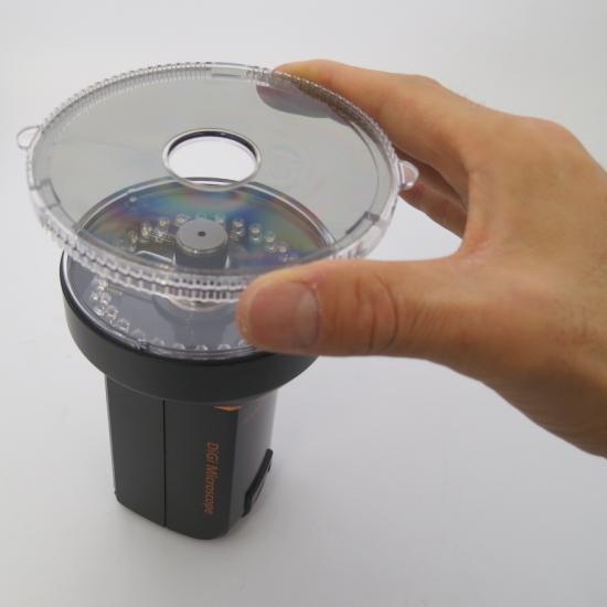 MicroLinks (ViTiny) 反射・白とびを抑さえるハイビジョンマイクロスコープセット UM08-PL4X【画像3】