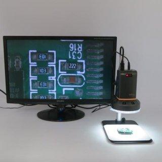 マイクロリンクス MicroLinks (ViTiny) 反射・白とびを抑さえるハイビジョンマイクロスコープセット UM08-PL4X