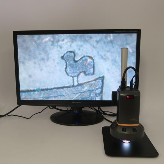 MicroLinks(ViTiny) HDMIマイクロスコープ UM08用 10倍対物レンズ UM-TL10XR【レンタル機】 【画像7】