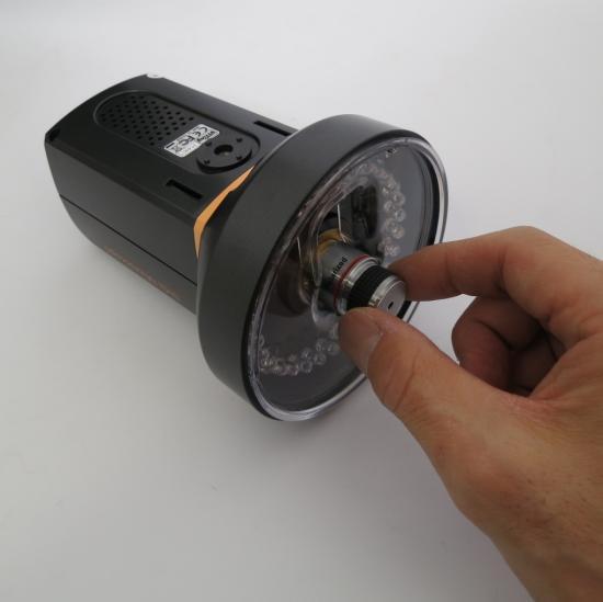 MicroLinks(ViTiny) HDMIマイクロスコープ UM08用 反射光抑えますパーツセット UM-PL4XR【レンタル機】 【画像6】