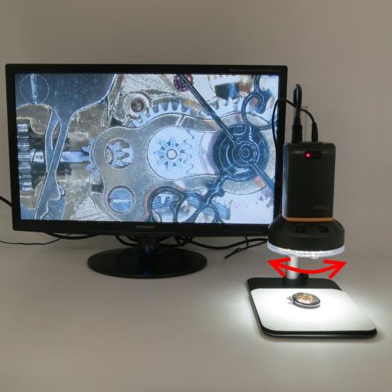 MicroLinks(ViTiny) HDMIマイクロスコープ UM08用 反射光抑えますパーツセット UM-PL4XR【レンタル機】 【画像8】
