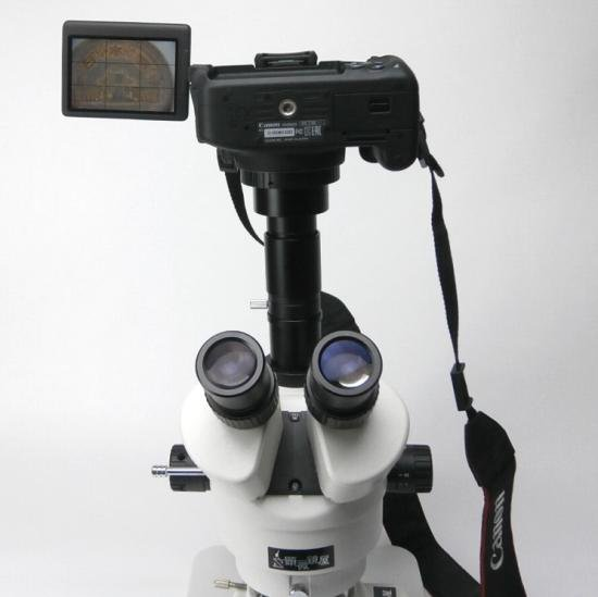 顕微鏡屋セレクト Canon EFマウント一眼レフカメラ(EOSシリーズ)用顕微鏡アダプタレンズ ALC-CEF【画像14】