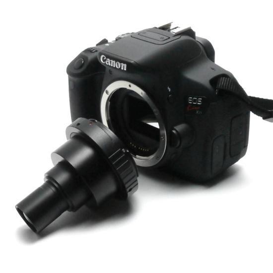 顕微鏡屋セレクト Canon EFマウント一眼レフカメラ(EOSシリーズ)用顕微鏡アダプタレンズ ALC-CEF【画像3】