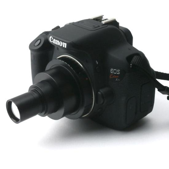 顕微鏡屋セレクト Canon EFマウント一眼レフカメラ(EOSシリーズ)用顕微鏡アダプタレンズ ALC-CEF【画像4】