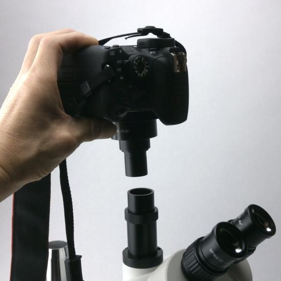顕微鏡屋セレクト Canon EFマウント一眼レフカメラ(EOSシリーズ)用顕微鏡アダプタレンズ ALC-CEF【画像5】