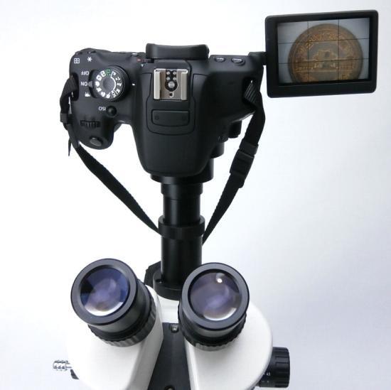 顕微鏡屋セレクト Canon EFマウント一眼レフカメラ(EOSシリーズ)用顕微鏡アダプタレンズ ALC-CEF【画像7】