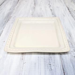 la reine / square plate S