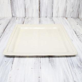 la reine / square plate L