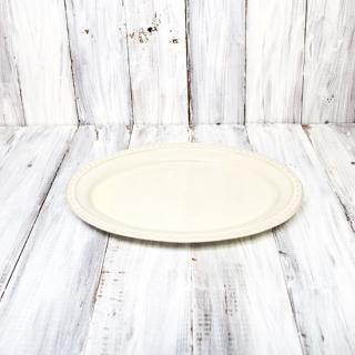 la reine / oval plate L