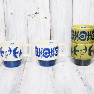hjem / pattern stacking mug