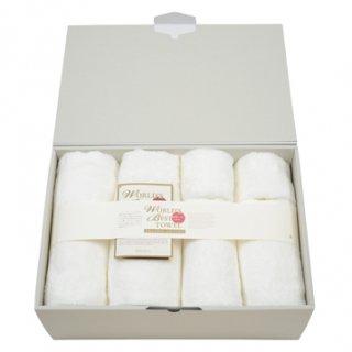 バスタオル+ミニバスタオル+フェイスタオル各2枚ギフトセット[世界一のタオル-Pure Cotton-|ワールドベスト:L]