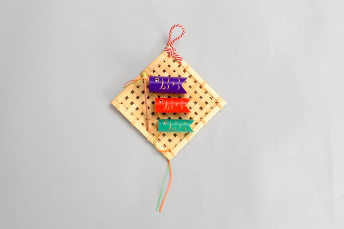 【五月人形】壁掛け用 ミニ鯉のぼり
