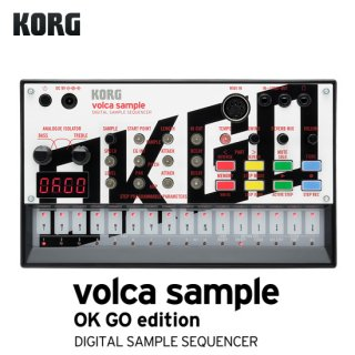 KORG volca sample OK GO edition【数量限定特価!】<img class='new_mark_img2' src='//img.shop-pro.jp/img/new/icons41.gif' style='border:none;display:inline;margin:0px;padding:0px;width:auto;' />