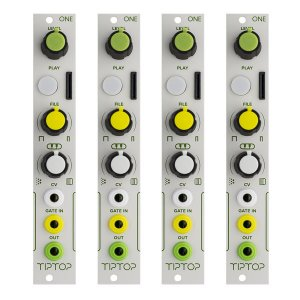 Tiptop Audio ONE Sample Player 4台セット