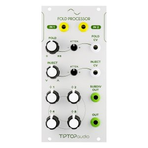 Tiptop Audio | Fold Processor(White Panel)