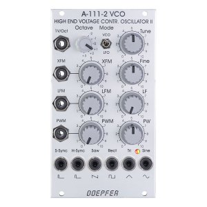 Doepfer A-111-2 High End VCO II / VCLFO<img class='new_mark_img2' src='//img.shop-pro.jp/img/new/icons5.gif' style='border:none;display:inline;margin:0px;padding:0px;width:auto;' />