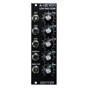 Doepfer A-120V VCF-1 24dB Low Pass-1 Moog<img class='new_mark_img2' src='//img.shop-pro.jp/img/new/icons5.gif' style='border:none;display:inline;margin:0px;padding:0px;width:auto;' />