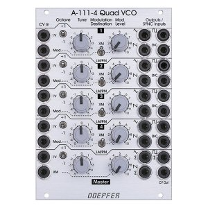 Doepfer A-111-4 Quad VCO<img class='new_mark_img2' src='//img.shop-pro.jp/img/new/icons5.gif' style='border:none;display:inline;margin:0px;padding:0px;width:auto;' />