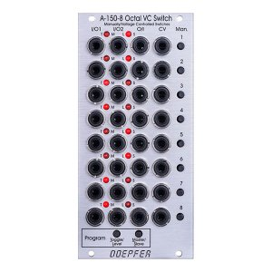 Doepfer A-150-8 Octal Manual/Voltage Controlled Programmable Switches