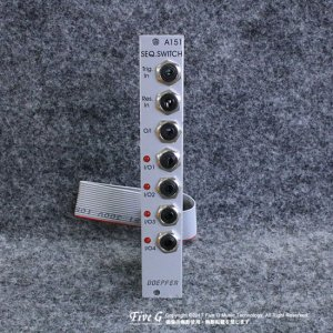 Doepfer A-151 Quad Switch Version.1【B級品処分特価!】<img class='new_mark_img2' src='//img.shop-pro.jp/img/new/icons20.gif' style='border:none;display:inline;margin:0px;padding:0px;width:auto;' />