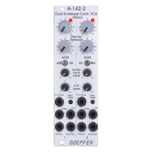 Doepfer A-142-2 Dual Envelope Controlled VCA<img class='new_mark_img2' src='//img.shop-pro.jp/img/new/icons5.gif' style='border:none;display:inline;margin:0px;padding:0px;width:auto;' />