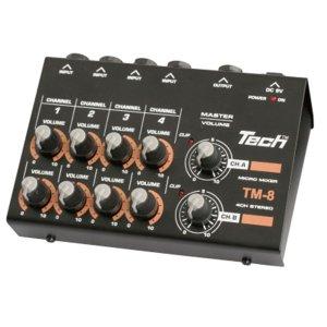 TECH | TM-8 8ch Micro Mixer