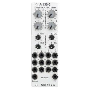 Doepfer | A-135-2 Quad VCA / Voltage Controller Mixer