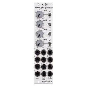 Doepfer | A-138i Interrupting Mixer<img class='new_mark_img2' src='//img.shop-pro.jp/img/new/icons5.gif' style='border:none;display:inline;margin:0px;padding:0px;width:auto;' />