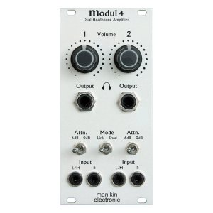 Manikin Electronic | Modul 4 Dual Headphone Amplifier