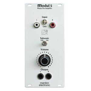 Manikin Electronic | Modul 5 Phono Pre-Amplifier & Subsonic-Filter