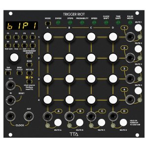 Tiptop Audio | Trigger Riot(Black Panel)<img class='new_mark_img2' src='https://img.shop-pro.jp/img/new/icons5.gif' style='border:none;display:inline;margin:0px;padding:0px;width:auto;' />