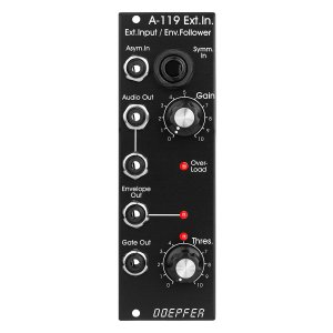 Doepfer | A-119V External Input / Env Follower<img class='new_mark_img2' src='https://img.shop-pro.jp/img/new/icons5.gif' style='border:none;display:inline;margin:0px;padding:0px;width:auto;' />