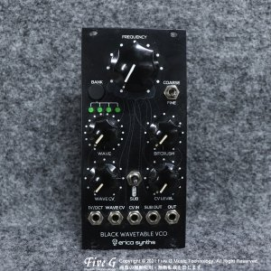 Erica Synths   Black Wavetable VCO【中古】