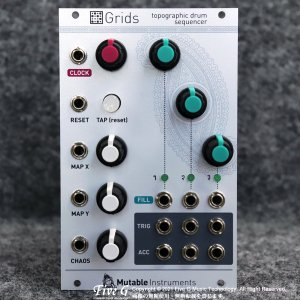 Mutable Instruments   Grids 並行品【中古】<img class='new_mark_img2' src='https://img.shop-pro.jp/img/new/icons7.gif' style='border:none;display:inline;margin:0px;padding:0px;width:auto;' />