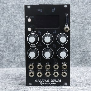 Erica Synths | Sample Drum【中古】<img class='new_mark_img2' src='https://img.shop-pro.jp/img/new/icons7.gif' style='border:none;display:inline;margin:0px;padding:0px;width:auto;' />