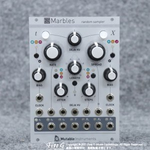 Mutable Instruments | Marbles【中古】<img class='new_mark_img2' src='https://img.shop-pro.jp/img/new/icons7.gif' style='border:none;display:inline;margin:0px;padding:0px;width:auto;' />