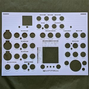 Erica Synths | SYNTRX Patch Note Sheets (10 PCS)