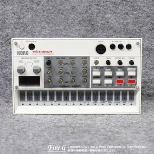 KORG | volca sample【中古】<img class='new_mark_img2' src='https://img.shop-pro.jp/img/new/icons7.gif' style='border:none;display:inline;margin:0px;padding:0px;width:auto;' />