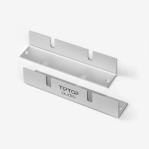 Tiptop Audio Z-Ears Rack Silver Pair