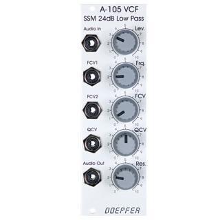 Doepfer   A-105 24dB Low Pass Filter SSM