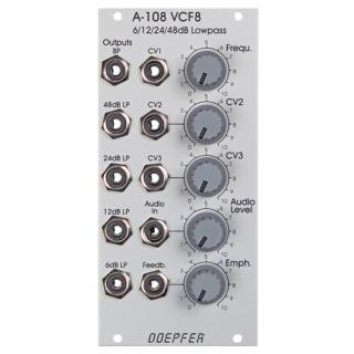 Doepfer | A-108 6/12/24/48dB Low / Band Pass Filter